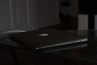 MacBook Air geschlossen